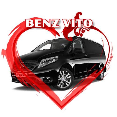 結婚禮車【豪華9人座商務車BENZ VITO】#W08-0001